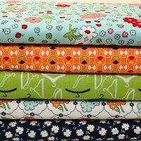Vintage Happy 5 Fat Quarter Bundle [style 1]